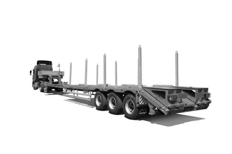 Перевозка длинномерных и негабаритных грузов