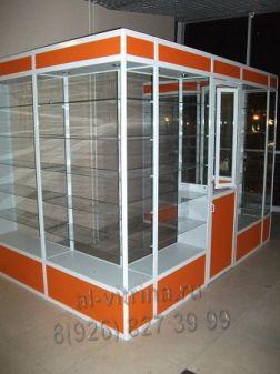 Торговое оборудования - витрины, прилавки, павильоны на заказ
