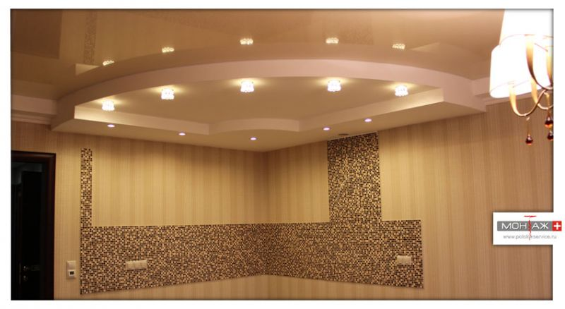 Компания «Монтаж Плюс»Натяжные потолки