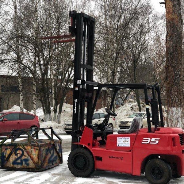 Бу погрузчик Balkancar 3, 5 т ДВ1792