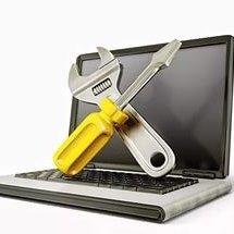 Разбили экран ноутбука,  залили его жидкостью не паникуйте - звоните,  привозите на ремонт
