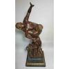 Большая бронзовая статуэтка Похищение Сабинянок.Оригинал 19 века.Высота 70 см