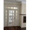 Двери со стеклом французская перегородка на заказ