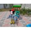 Электромобиль робот рикша