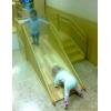 Игровые детские горки  - манеж для детских садов 1.2х1.2м