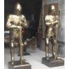 Рыцари старого замка из металла