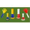 Ладошки-трещотки под нанесение логотипа оптом от 100штук
