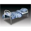 Металлические кровати для студентов, кровати для строителей