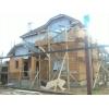 Бригада каменщиков Рф. выполняет работы по строительству