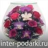 Натуральные цветы в стекле в вакууме на 5 лет !!!