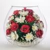Цветы натуральные в стекле в вакууме оптовые поставки.