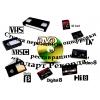 Перезапись аудио, видеокассет, фото, киноплёнок на диски, флешку