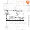 Продажа 1-к. квартиры 69.9 кв.м в ЖК Квартал 38А со скидкой 1.7 млн. рублей