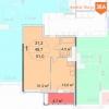 """Продажа 1-комнатной квартиры в ЖК """"Квартал 38А"""" на 10 этаже в корпусе 11"""