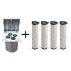 Промышленные фильтры для силоса.