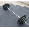 Резиновая плитка покрытие для спортивной штанги