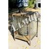 Стеклянный спиральный дровяной водонагреватель для бассейна
