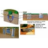 Установка септика из бетонных колец для постоянного проживания 3-4 человек