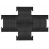 Звукоизоляционное напольное покрытие из резины для фитнес залов