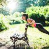 Фитнес,  тренровки на свежем воздухе